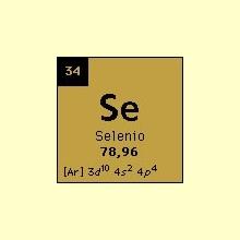 Información sobre el Selenio