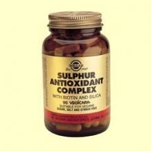 Complejo de Antioxidantes Azufrados - Solgar - 90 cap