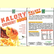 Kalory Emergency 1000 - laboratorios ESI - 24 tabletas