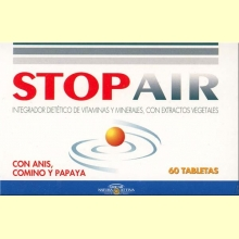 Stop Air Gases - Anis, Comino y Papaya - Gricar - 60 tabletas