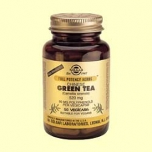 Té Verde (Chino) 520 mg Máxima potencia - Solgar - 50 cap