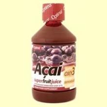 Zumo de Fruta de Açai - Enriquecido con Antioxidante OXY3 - 500 ml.