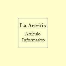 La Artritis - Artículo informativo de Rafael Sánchez - Naturópata