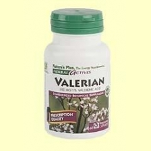 Valerian Root - Raíz de Valeriana - 60 vegicaps - Nature's Plus