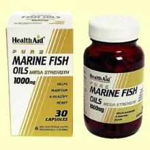 Aceites de Pescado 1000 mg - 30 cápsulas - Health Aid