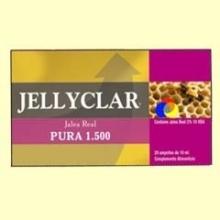 Jalea Real Pura 1500 mg Jellyclar – 20 ampollas - Dieticlar