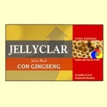 Jalea Real con Ginseng Jallyclar - 20 ampollas - Dieticlar