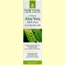 Crema de Aloe Vera 100% Puro - 50 ml - Natysal