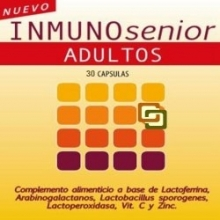 Inmunosenior Adultos - 30 cápsulas - Defensas - Dieticlar