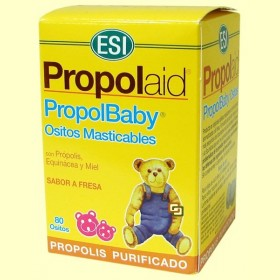 Propol Baby - 80 Ositos Masticables Propolaid - Laboratorios ESI