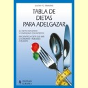Tabla de dietas para adelgazar - Hispano Europea