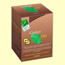 Ginkgo 100 - Memoria - 60 cápsulas - 100% Natural