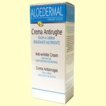 Crema Antiarrugas Ojos y Labios - 30 ml - Aloedermal
