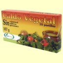 Caldo Vegetal en Pastillas - Soria Natural - 10 pastillas