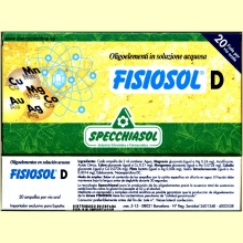 Fisiosol D de Specchiasol