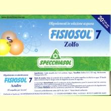 Fisiosol 7 Azufre (Zolfo) de Specchiasol