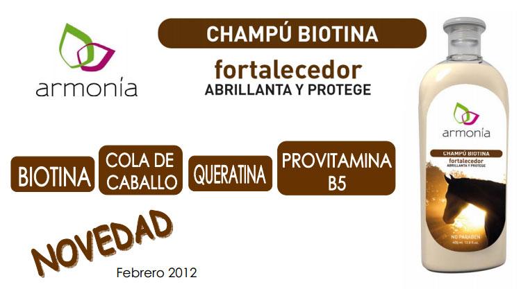 Chamú anticaida Biotina