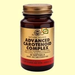 Carotenoides Complex Avanzado - 30 cápsulas - Solgar