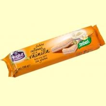Galletas rellenas sabor vainilla Noglut - Sin Gluten - 150 gramos - Santiveri