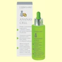 Fluido Concentrado Superactivo Día y Noche - Celulitis - Ananas Cell - 100 ml - L'Erbolario