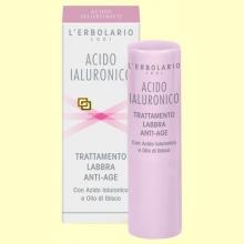 Ácido Hialurónico - Labios - 4,5 ml - L'Erbolario