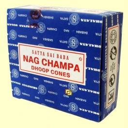 Conos Nag Champa - 12 conos - Incienso Sai Baba