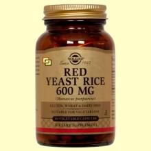 Levadura Roja de Arroz - Red Yeast Rice - 60 cápsulas - Solgar