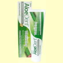 AloeDent - Dentífrico Blanqueador Aloe Vera - 100 ml - Optima