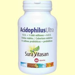 Acidophilus Ultra Plus - 60 cápsulas - Sura Vitasan