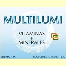 Multilumi - Vitaminas + Minerales - 30 cápsulas - Dieticlar