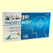 Phosfoactiv - Rendimiento y Concentración - 20 viales - Soria Natural
