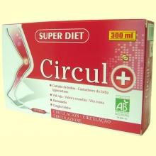 Circul + Circulación - 20 ampollas - Superdiet