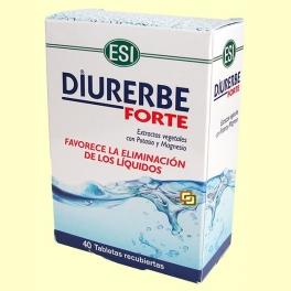 Diurerbe Forte tabletas - 40 tabletas - Laboratorios ESI