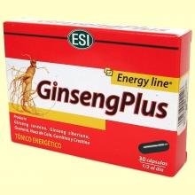 Ginseng Plus - 30 cápsulas - Laboratorios ESI