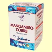Manganeso Cobre - Oligoelementos - 50 cápsulas - NEO