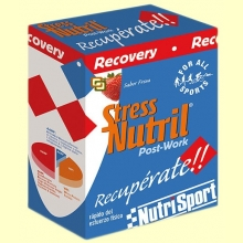 Stressnutril - Nutrisport - Fresa - (5 sobres) 200 gramos
