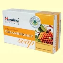 Jabón con crema de leche y miel - 75 gramos - Himalaya Herbals