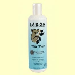Champú de tea tree - Jason - 518 ml.