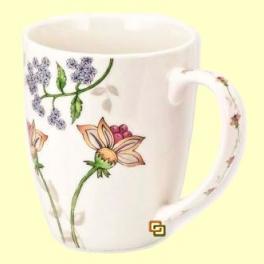 Taza infusora Mug Provence de Porcelana - El Mundo del Té