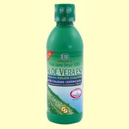 Aloe Vera Zumo Colon - Limpieza de Colon - Laboratorios ESI - 500 ml