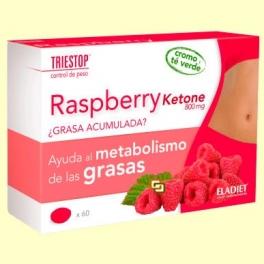 Raspberry Ketone 800 mg - Triestop - 60 comprimidos - Eladiet