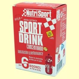 Bebida isotónica Sport Drink Concentrado - 6 sobres - Nutrisport