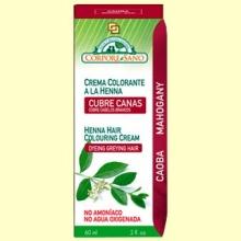 Cubre Canas Henna Caoba - 60 ml - Corpore Sano