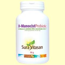 D-Manocist Probiotic - Bienestar urinario - 50 gramos - Sura Vitasan