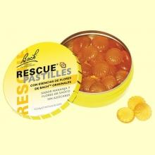 Bach Rescue Pastillas - Naranja y Flor de Saúco - 50 gramos - Bach