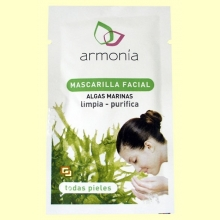 Mascarilla Facial de Algas - 11 gramos - Armonía