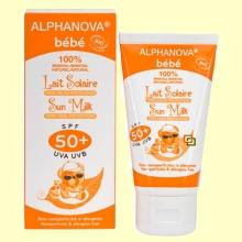 Protector Solar Ecológico SPF 50 Bebé - 50 gramos - Alphanova Bebé