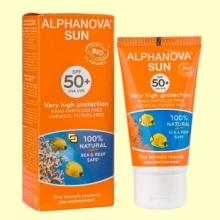 Protector Solar Ecológico SPF 50 - 50 gramos - Alphanova