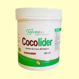 Cocolíder - Aceite de coco bio - 500 ml - Naturlíder