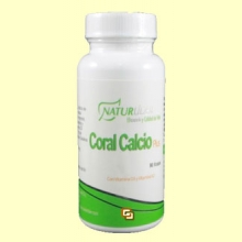 Coral Calcio Plus - 90 cápsulas - Naturlider